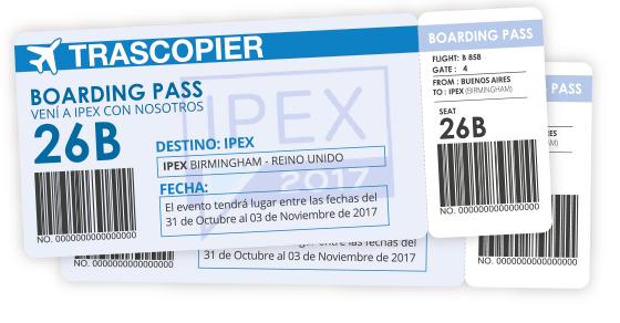 Viajá con Nosotros a IPEX 2017